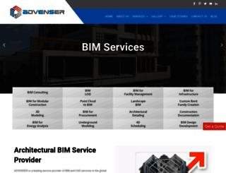 architecturalbimservices.com screenshot