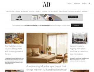 architecturaldigest.in screenshot