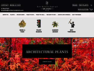 architecturalplants.com screenshot