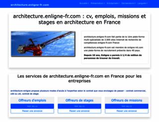 architecture.enligne-fr.com screenshot