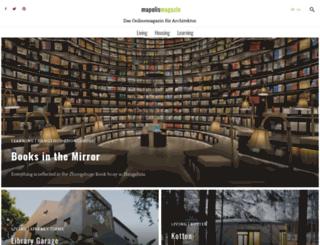 architecture.mapolismagazin.com screenshot