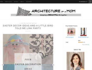 architectureofamom.com screenshot
