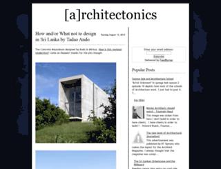 architecturez.blogspot.co.uk screenshot