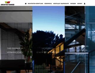 architektenweb.de screenshot