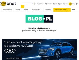 architektnaobcasach.blog.pl screenshot