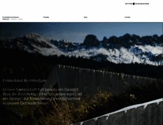 architektschumacher.ch screenshot