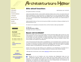 architekturbuero-hissler.de screenshot