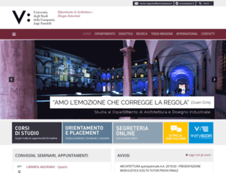 architettura.unina2.it screenshot