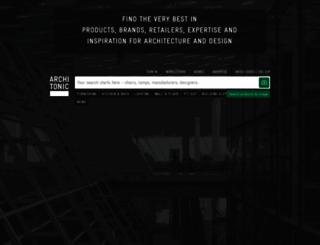 architonic.com screenshot