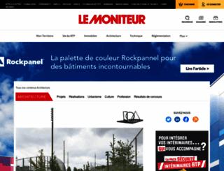 architopik.lemoniteur.fr screenshot