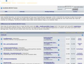 archiv.jurathek.de screenshot