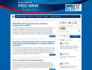 archiv.pro-nrw.net screenshot