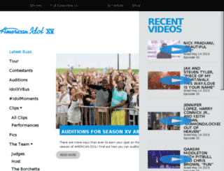 archive.americanidol.com screenshot