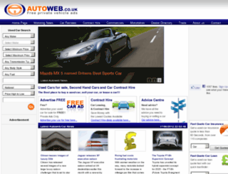 archive.autoweb.co.uk screenshot