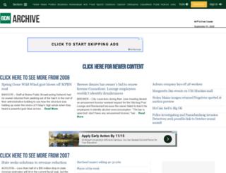 archive.bangordailynews.com screenshot