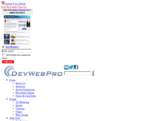 archive.devwebpro.com screenshot