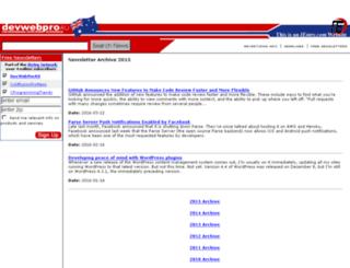 archive.devwebproau.com screenshot