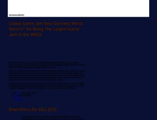 archive.globalgamejam.org screenshot