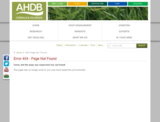 archive.hgca.com screenshot