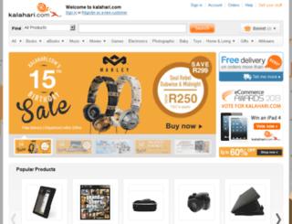 archive.kalahari.com screenshot