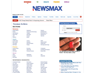 archive.newsmax.com screenshot
