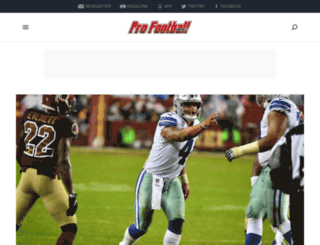 archive.profootballweekly.com screenshot