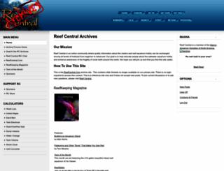 archive.reefcentral.com screenshot