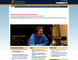 archive.ricksteves.com screenshot