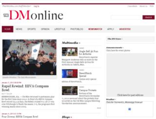 archive.thedmonline.com screenshot