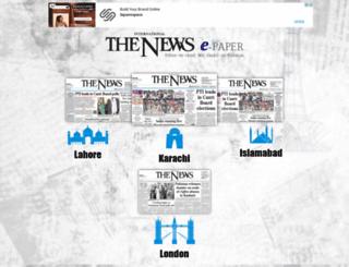 archive.thenews.com.pk screenshot