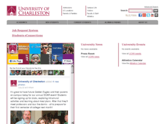 archive.ucwv.edu screenshot