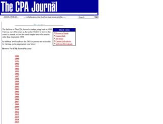 archives.cpajournal.com screenshot