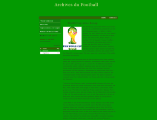 archivesdufootball.com screenshot