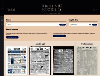archiviodomenica.ilsole24ore.com screenshot