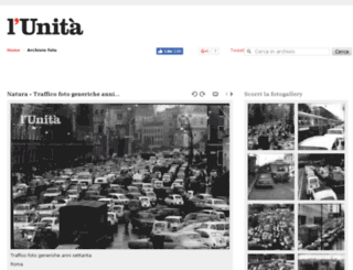 archiviofoto.unita.it screenshot