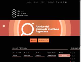 archivo.creativos.org screenshot