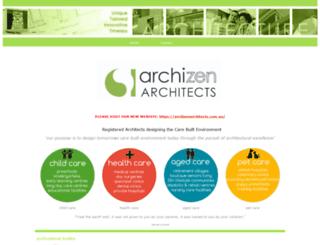 archizen.com.au screenshot