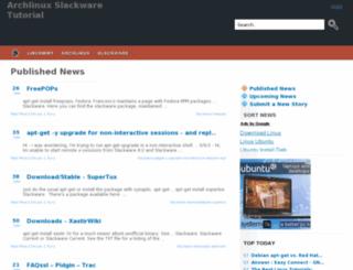 archlinux.javaenum.org screenshot