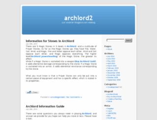archlord2.blogpico.com screenshot