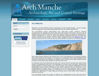 archmanche.maritimearchaeologytrust.org screenshot