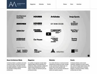 archmedia.com.au screenshot