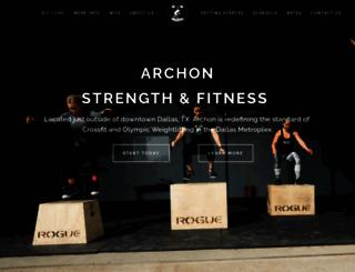 archoncrossfit.com screenshot