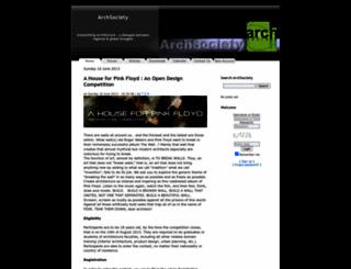 archsociety.com screenshot