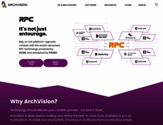 archvision.com screenshot