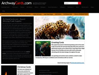 archwaycards.com screenshot