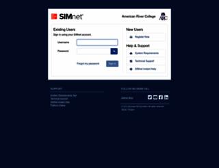 arclosrios.simnetonline.com screenshot