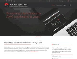 arcmediaglobal.com screenshot