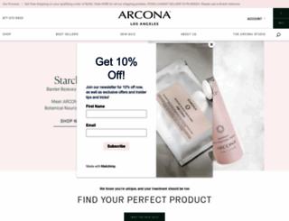arcona.com screenshot