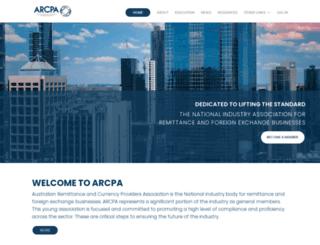 arcpa.org.au screenshot
