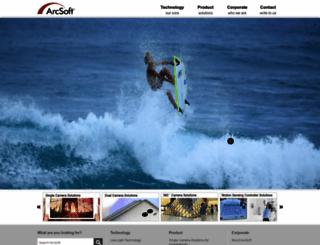 arcsoft.com screenshot